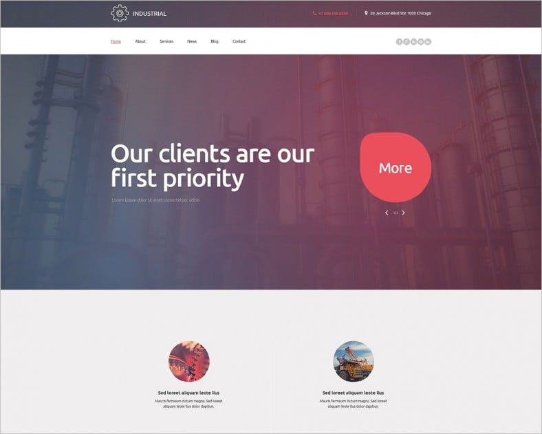 industrial wordpress theme 788x631