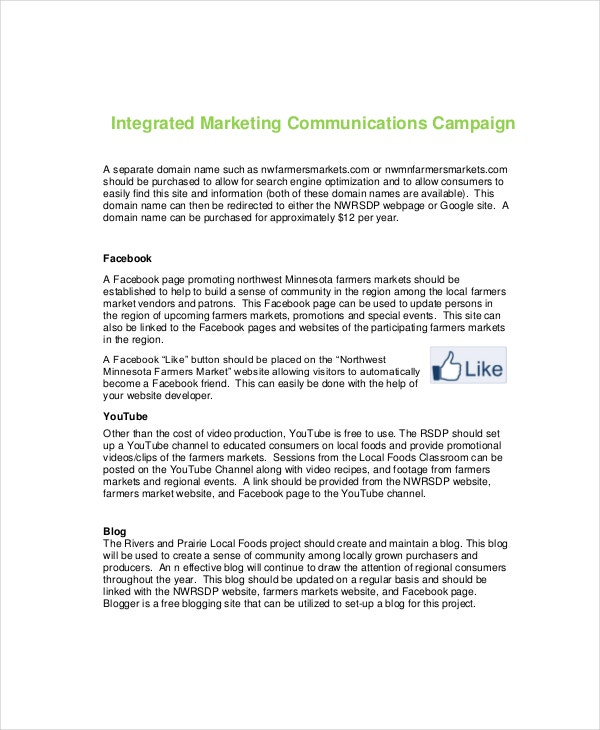 integrated-marketing-communications-campaign-sample-template