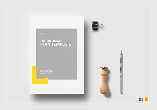 interior design business plan template1