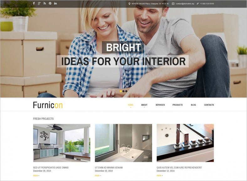 interior design responsive drupal template 788x577