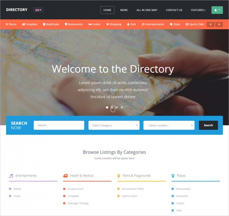 Business directory template free vatozozdevelopment business directory template free friedricerecipe Image collections