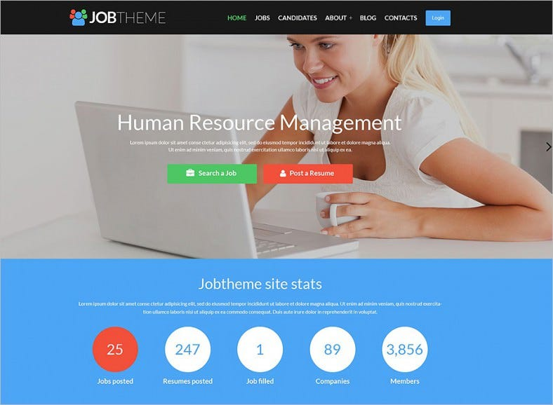job portal responsive wordpress theme 2 788x578