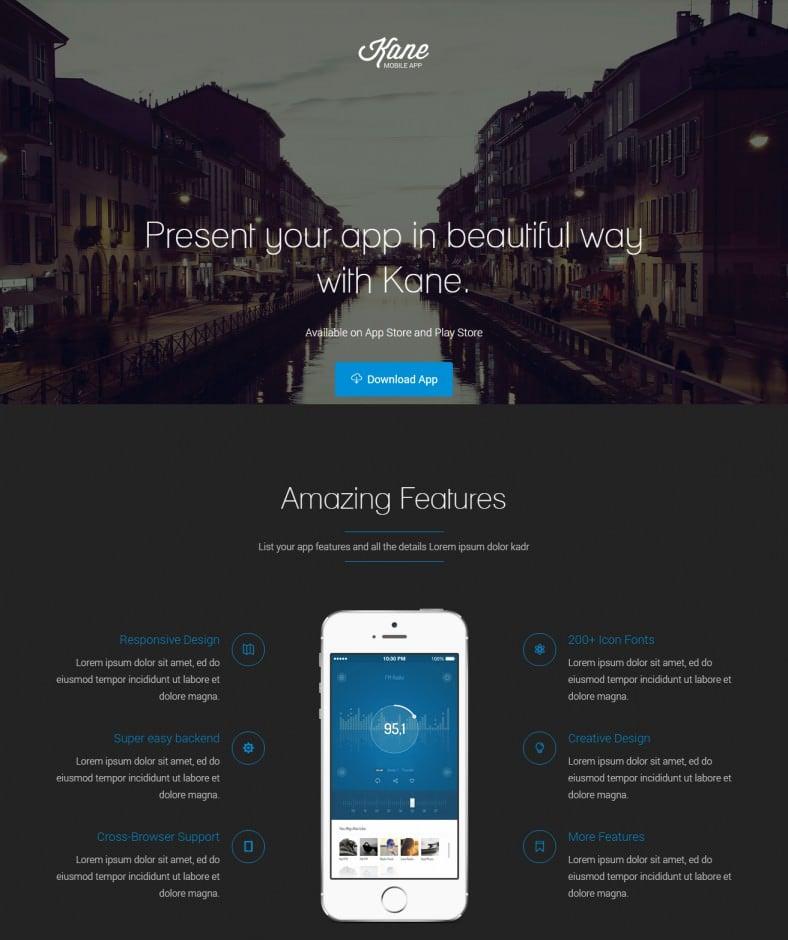 Professional Joomla Landing Page Templates Free Premium - Joomla landing page template