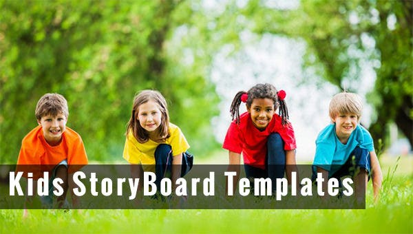 kids storyboard templates