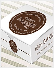 Cake Box Design Vector : 171+ Box Templates   Free Word, PDF, PSD, Indesign Format ...