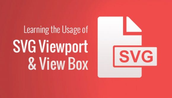 Learning the Usage of SVG Viewport