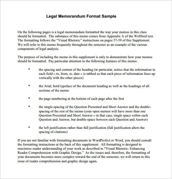 12 Memorandum Templates Free Word PDF Documents Download – Template for a Memorandum