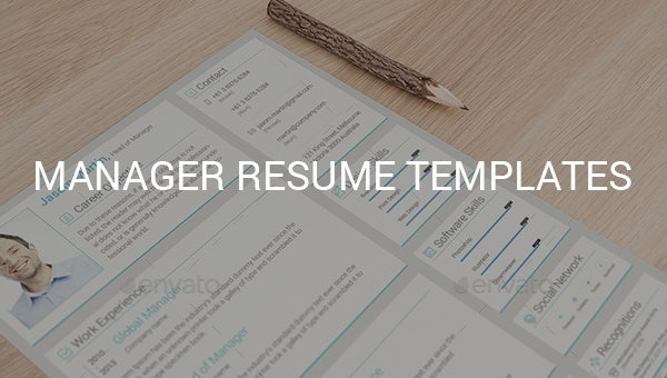managerresumetemplates