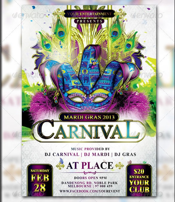 Carnival flyer template 49 free psd ai vector eps format mardi gras carnival flyer template saigontimesfo