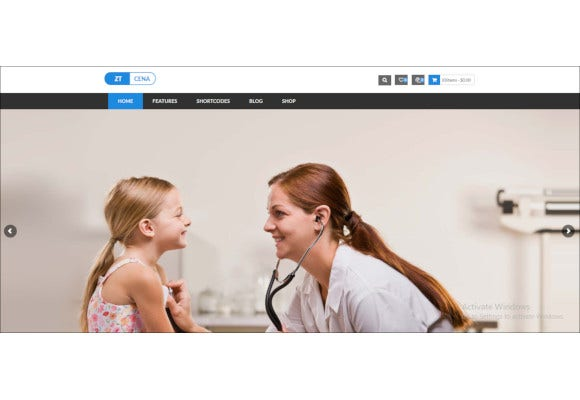 medical health joomla virtuemart template