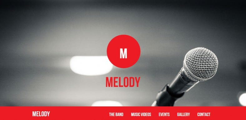 melody music and band theme 788x387