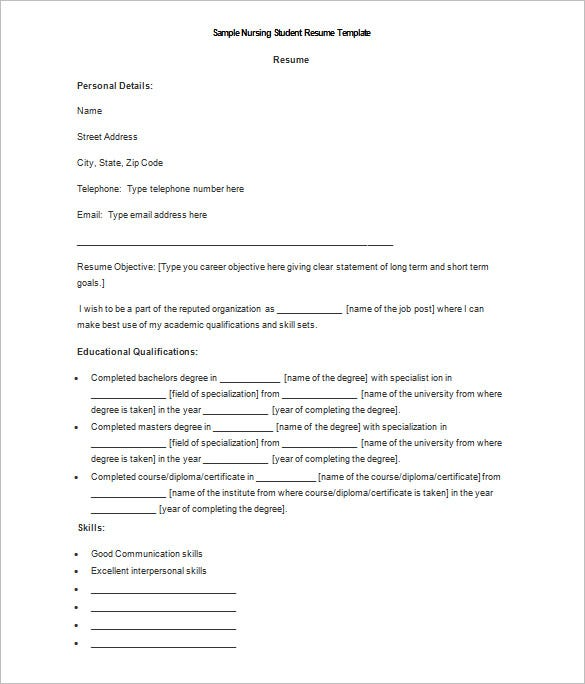 29 Basic Teacher Resume Templates Pdf Doc: 34+ Microsoft Resume Templates - DOC, PDF