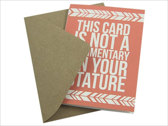 mini gift card envelope template 4