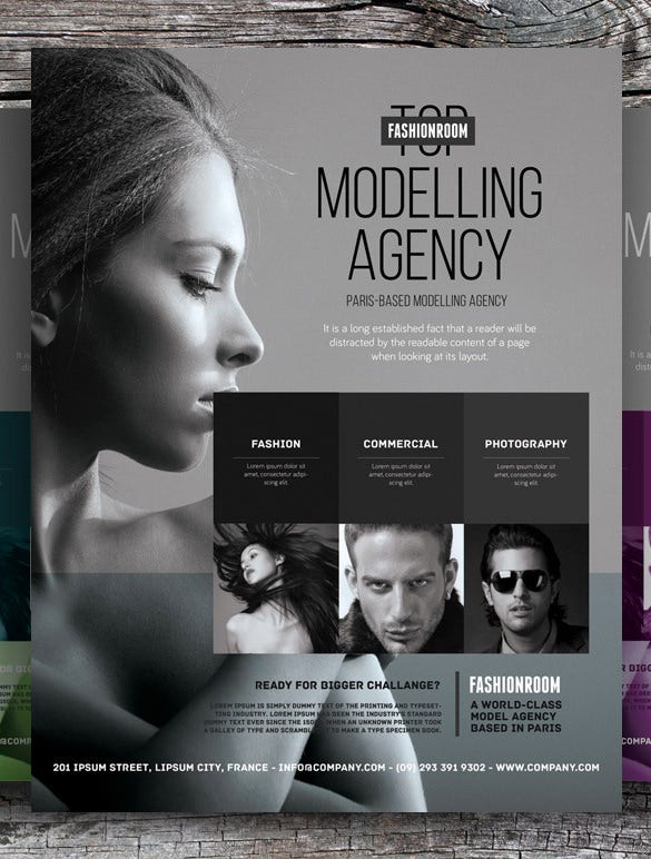 25 modern psd advertising flyer templates free premium templates