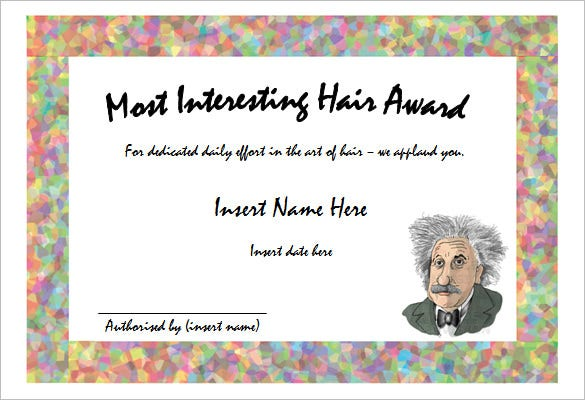 funny certificate templates  10  Funny Certificate Templates – Free Word, PDF Documents Download ...