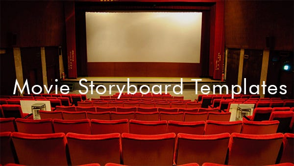 movie storyboard templates