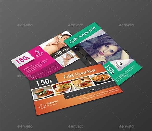 multiuse psd gift card template