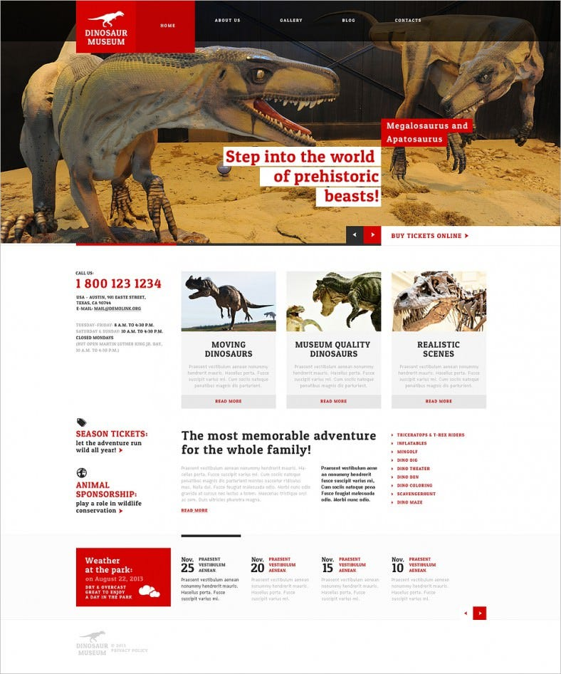 museum responsive wordpress theme 3 788x946