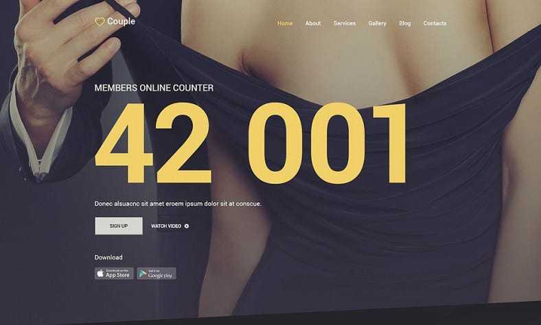 new joomla website template for dating 788x474