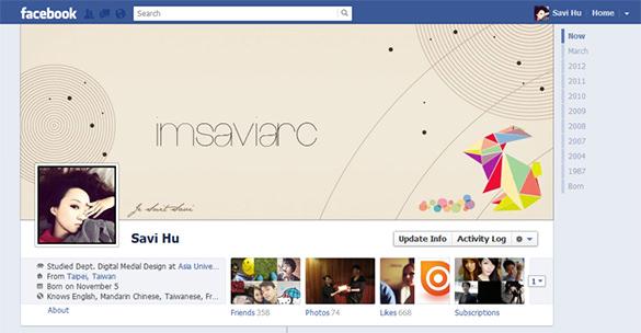 nice psd facebook timeline cover template
