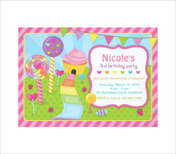 nicoles candyland invitation template