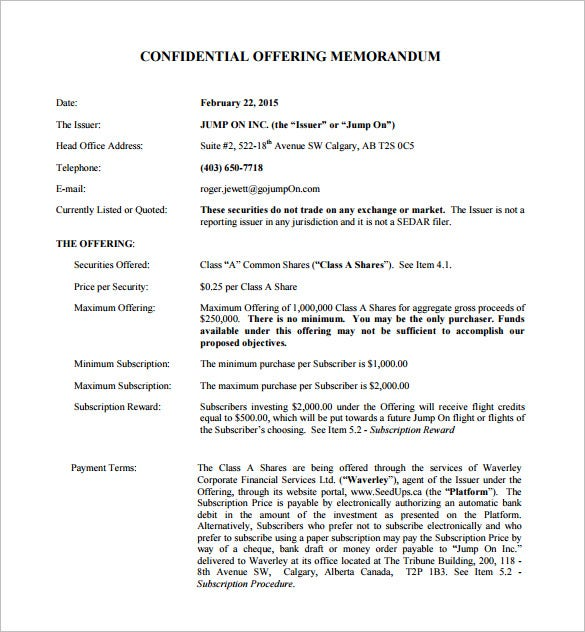 Memorandum Templates Free Word PDF Documents Download Free - Offering memorandum template