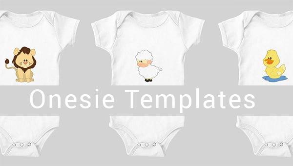 10  onesie templates  u0026 designs files