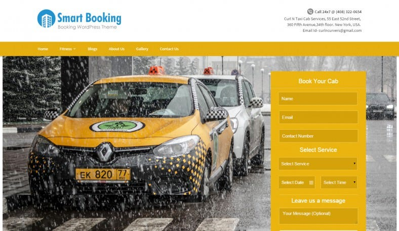 Online Appointment Booking Wp Theme