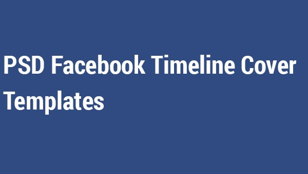 psd facebook timeline cover templates