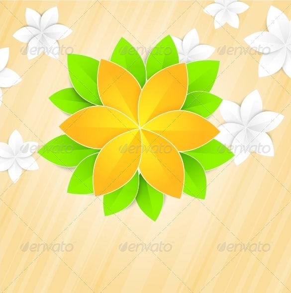 Paper flower templates for Paper flower template free