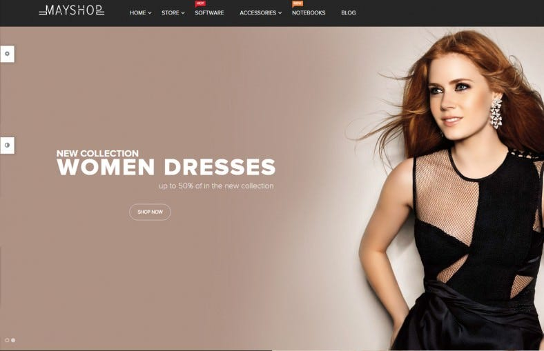 Perfect Open Cart Theme for Online Shop