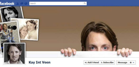 perfect psd facebook timeline cover template