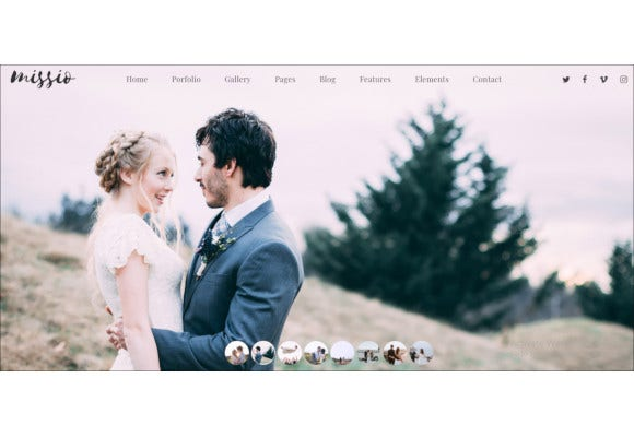 photographers bootstrap photography template