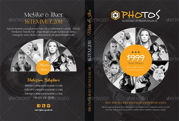 photography dvd cover template 6