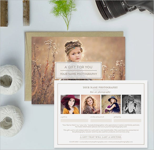 Photography gift certificate templates 17 free word pdf psd photography gift certificate template download yelopaper Images