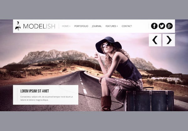 photography html5 site template