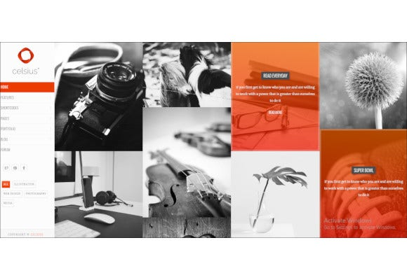 photography and video portfolio joomla template