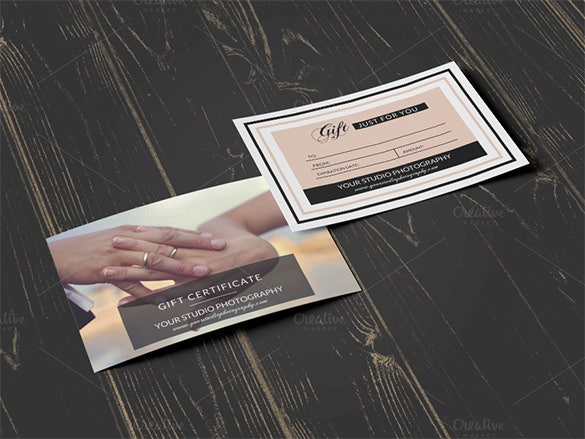 photoshop psd gift card template