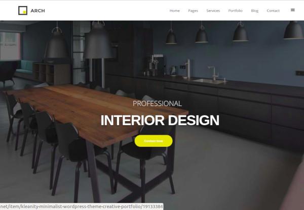 premium interior design joomla templat