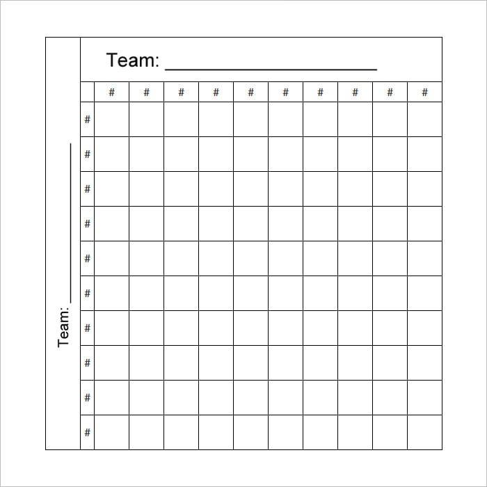 Football Pool Template Excel