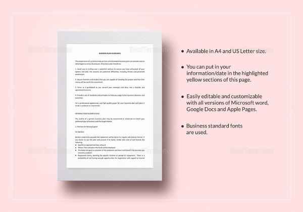 Heardguiltcf Ms Office Business Plan Template - Business plan template microsoft word