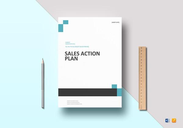 printable sales action plan template