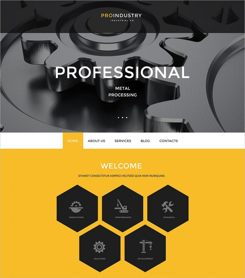 proindustry wordpress theme 788x892