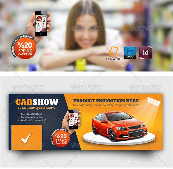products promotion timeline template photoshop psd 2