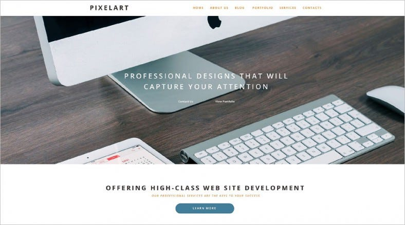 Professional Art Design WordPress Theme