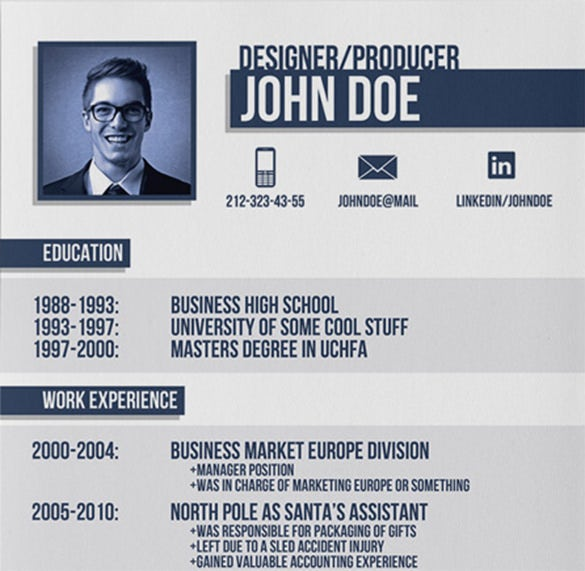 Professional Designer Resume Template. Download