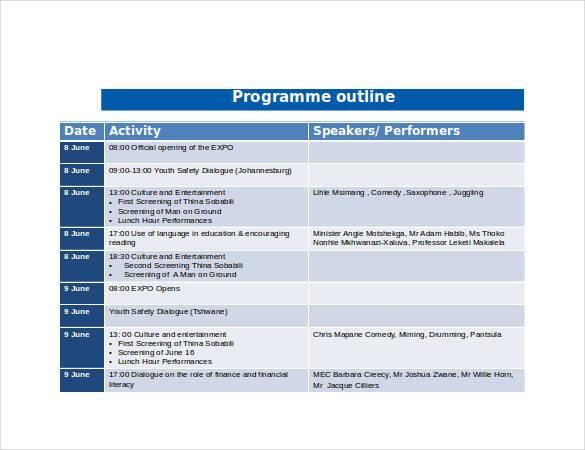 programme-outline