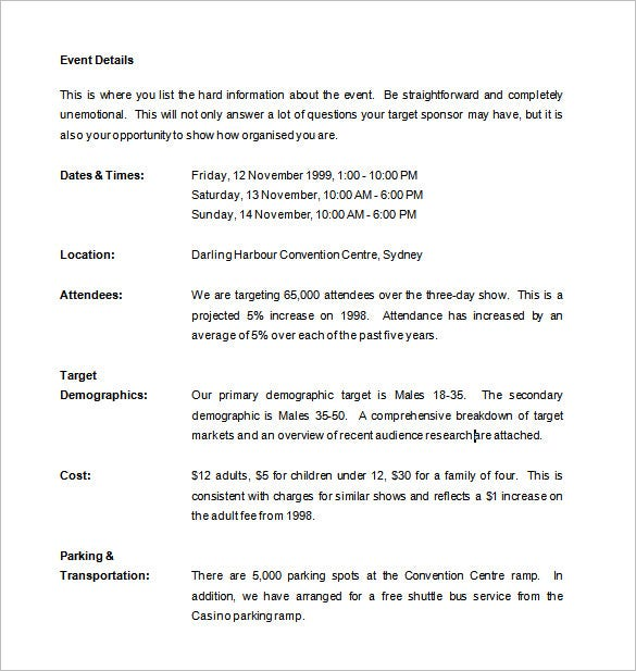Sample Formal Proposal Template | Proposal Templates 140 Free Word Pdf Format Download Free
