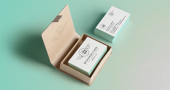 psd business card mock up template