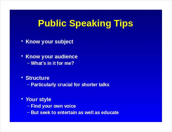public-speaking-outline